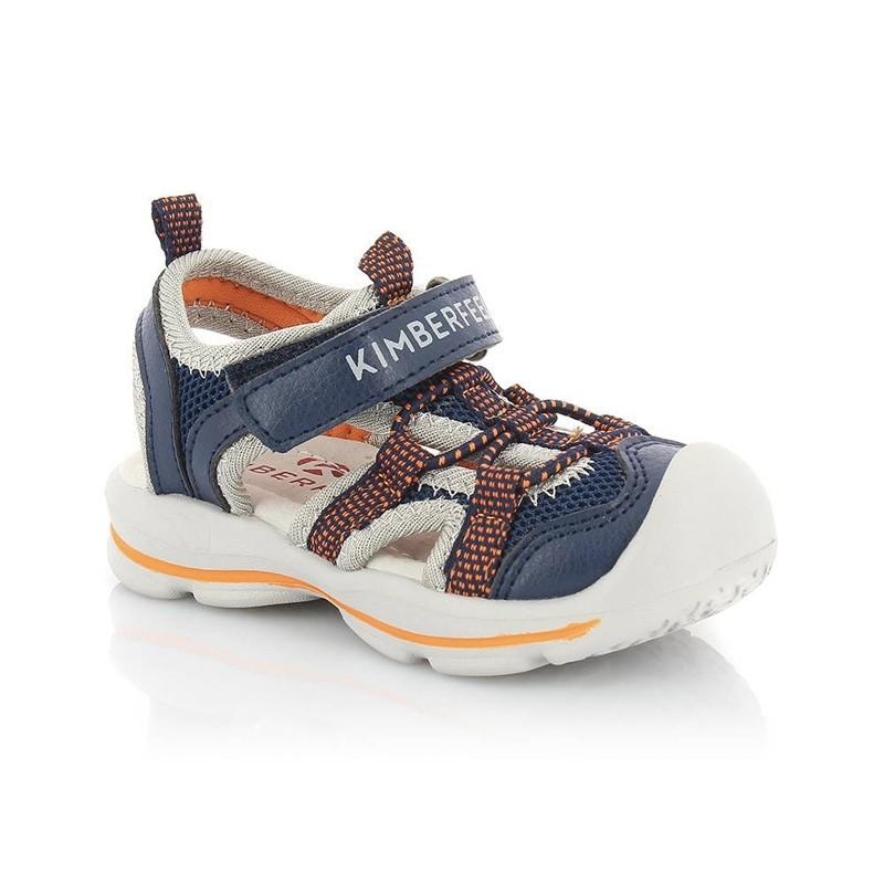 Sandales enfant Shiki de Kimberfeel - du 22 au 32 - Navy