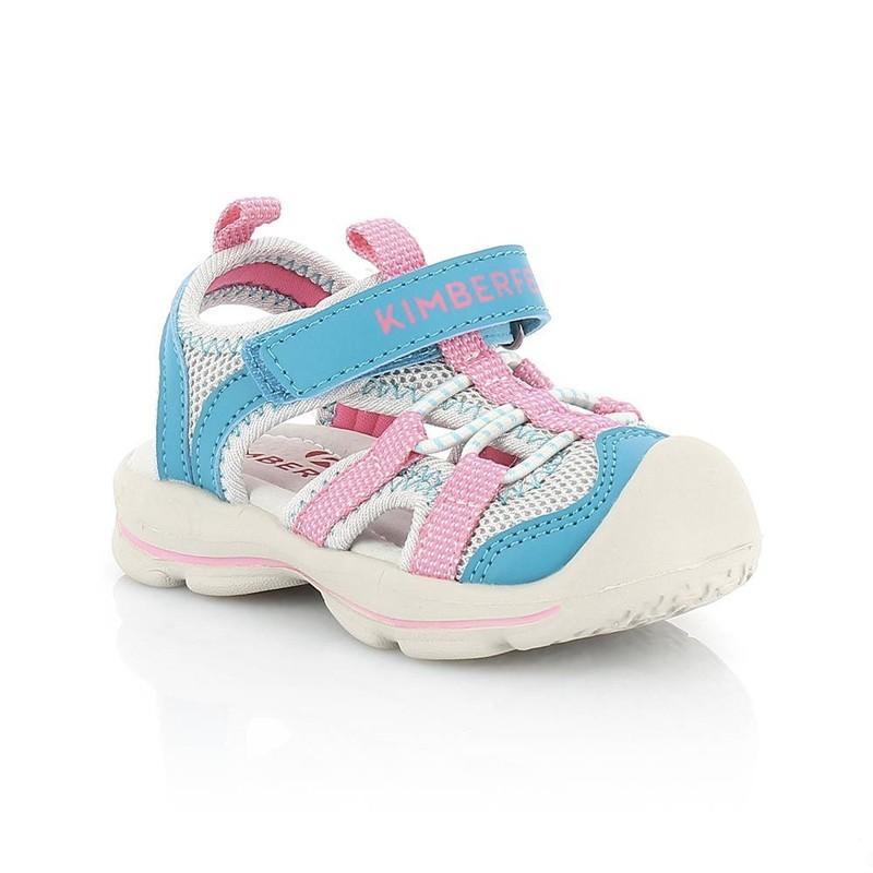 Sandales enfant Shiki de Kimberfeel - du 22 au 32 - Turquoise