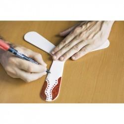 Boomerang à fabriquer soi-même - à partir de 9 ans - bio plastique