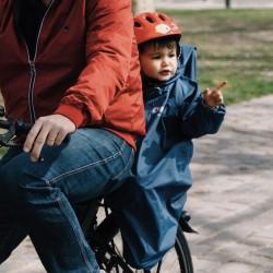 Poncho pour siège vélo enfant - RAINETTE - Jaune