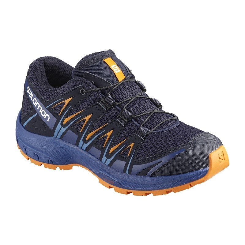Chaussure de randonnée enfant Salomon - XA PRO 3D Junior - Du 31 au 34 - Medieval B/Maz Blue/Ta