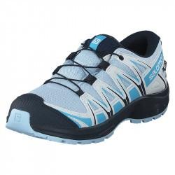 XA PRO 3D Junior CSWP - Chaussure Salomon enfant Imperméable - 31 au 35 - Cashmere B/Illusi
