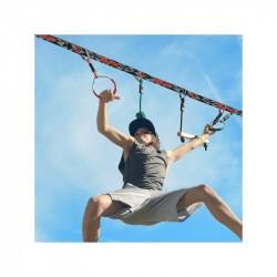 Ninja line pour enfant - Slackline + Obstacles - Slackers Intro Kit
