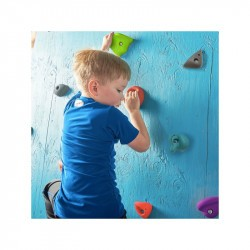 Set de 22 prises escalade enfant - Slackers Climbing kit