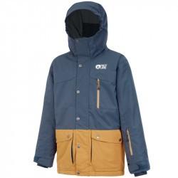 Marcus JKT  - à partir de 6 ans - Dark Blue Safran - Picture Organic Clothing