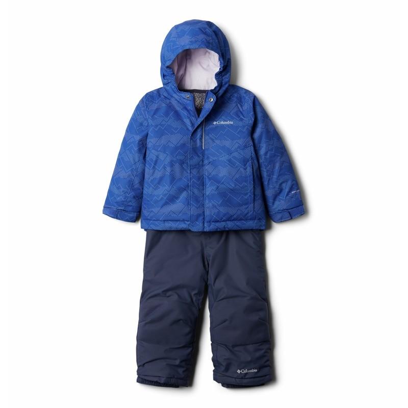 Ensemble neige enfant Columbia Buga - Lapis Blue Dot -