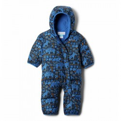 Combinaison bébé hiver en duvet Columbia Snuggly Bunny - Bright Indigo