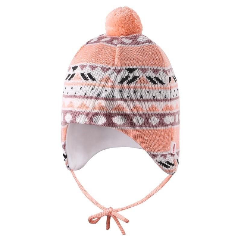 Bonnet Mérinos Bébé - Powder Pink - Seimi - REIMA