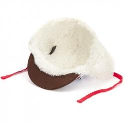 Casquette hiver enfant Hello Hossy Snow Moumoute intérieur