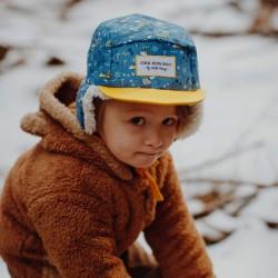 Casquette hiver enfant Hello Hossy Fox Moumoute ambiance garçon