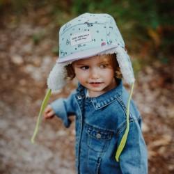 Casquette hiver enfant Hello Hossy Cottage Moumoute ambiance petite fille