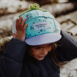 Casquette hiver enfant Hello Hossy Cottage Moumoute photo fille