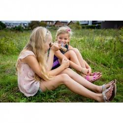 Kaléidoscope enfant Huckleberry avec deux petites filles