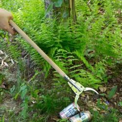 Pince à déchet enfant en bois Huckleberry ouverte