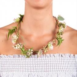 Collier de fleurs à composer Huckleberry cou