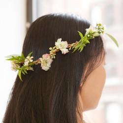 Collier de fleurs à composer Huckleberry fille