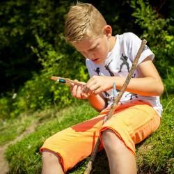 Kit de pêche pour enfant : fil et hameçon Huckleberry enfant