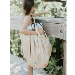 Tapis de jeu nomade et sac de rangement outdoor Play and Go Sea