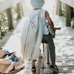 Tapis de jeu nomade et sac de rangement Play and Go Stripes