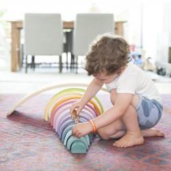 Planche d'équilibre bébé Wobbel Starter jeu