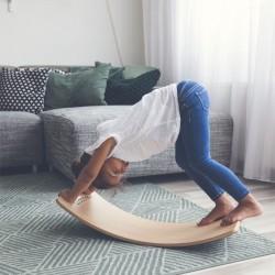 Planche d'équilibre bébé en bois Wobbel Starter