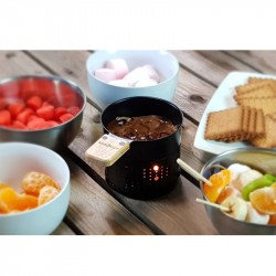 Set 2 poêlons lumi raclette en lumi choco Cookut