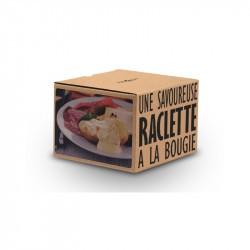Raclette à la bougie Cookut Noir Set 2 personnes