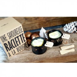 Appareil à raclette Cookut noir set 2 personnes