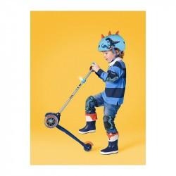 Casque bol enfant  Micro - 3-6 ans  (48 - 53 cm ) - Dino 3D