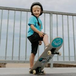 Skate enfant Roule Canaille Aviateur Bleu