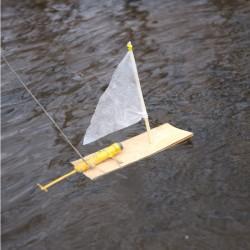 Huckleberry Moteur pour bateau à construire