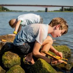 Moteur pour bateau Huckleberry enfants