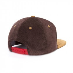 Casquette hiver Hello Hossy velours brownie