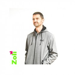 Veste de portage Softshell pour homme - Zoli Week end - Gris