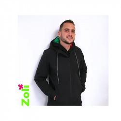 Veste de portage Softshell pour homme - Zoli Week end - Noir