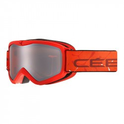 Masque de ski enfant Cébé Teleporter - 3 ans/6 ans - Matt Red Orange