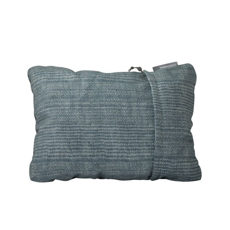 Oreiller compressible - Thermarest - Blue Woven