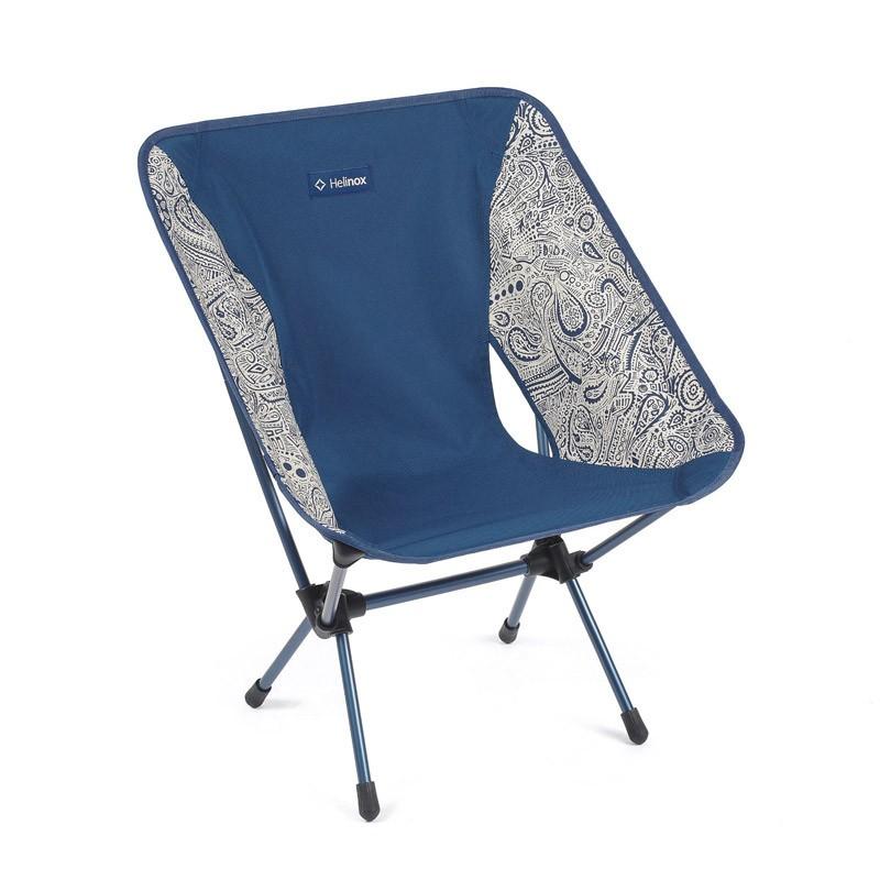 Chair One d'Helinox - Chaise pliante ultra légère - Blue paisley