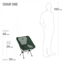Chair One d'Helinox - Chaise pliante ultra légère - Forest green