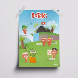 Kit d'activités - Semis carotte - Botaki - poster