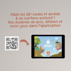 Kit d'activités - Semis carotte - Botaki - QR codes