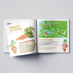 Kit d'activités - Semis carotte - Botaki - botaguide