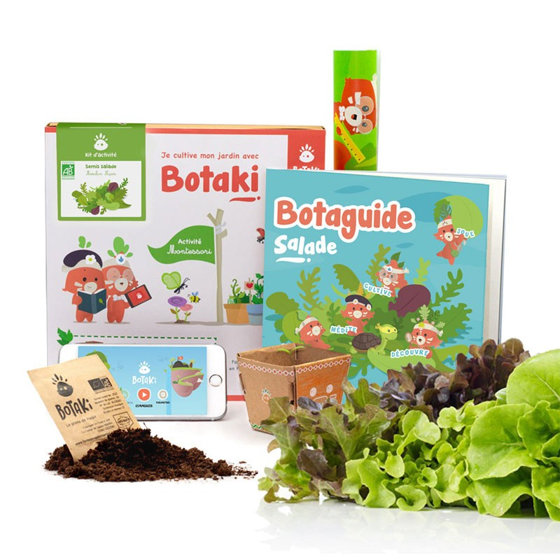 Kit d'activités - Semis salade - Botaki