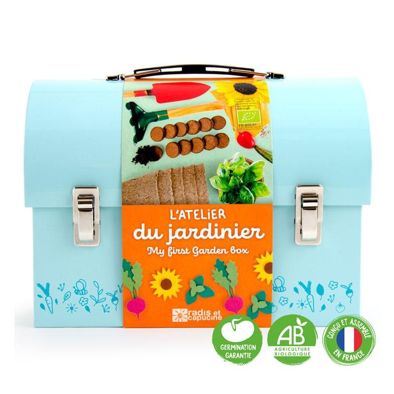 La valisette du jardinier - Radis et Capucine