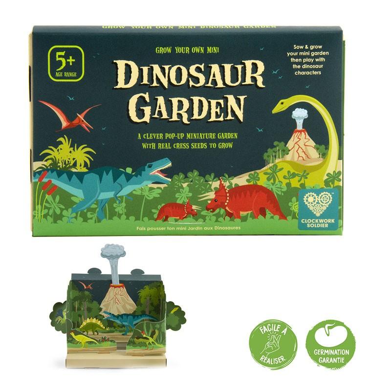Jardin pop-up Dinosaures - Radis et Capucine
