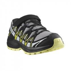 XA PRO 3D Kid CSWP - Chaussure Salomon enfant Imperméable - 26 au 30 - Monument Black Char