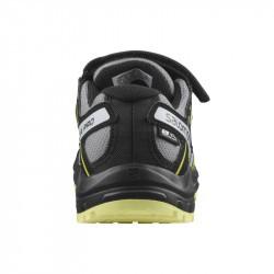 XA PRO 3D Kid CSWP - Chaussure Salomon enfant Imperméable -  Monument Black Char