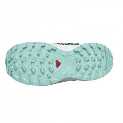XA PRO 3D Kid CSWP - Chaussure Salomon enfant Imperméable Pastel Turquoise semelle