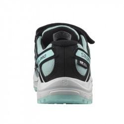 XA PRO 3D Kid CSWP - Chaussure Salomon enfant Imperméable Pastel Turquoise