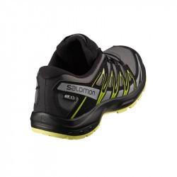 XA PRO 3D Junior CSWP - Chaussure Salomon enfant Imperméable - Gargoyle Black Char